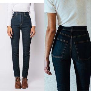 Imogene & Willie Elizabeth indigo high waist jeans